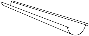 Желоб 4 м