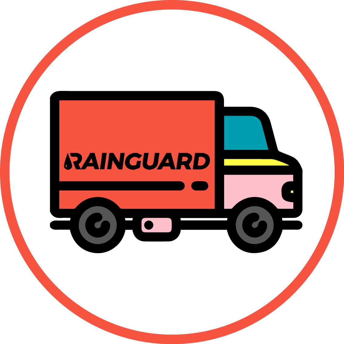 Доставка водосточных систем RainGuard